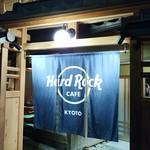 ハードロックカフェ - 暖簾♪