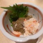 ざくろ - 能登産ずわい蟹の蟹味噌