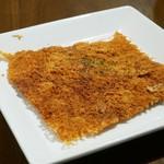 居酒屋 ジャック - カリカリチーズせんべい  150円