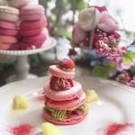 つくしんぼカフェ - プリンセスショートケーキ