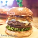 バーガーファクトリー - マッカンチーズ&ベーコンジャムバーガー