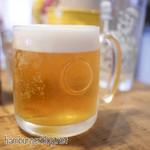 バーガーファクトリー - 生ビールはハートランド