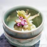 浪速割烹 喜川 - 豆鯵の南蛮漬け