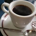 れもん - ダムカレーとセットのホットコーヒー