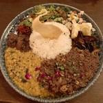 curry bar nidomi - 混盛