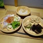 都野菜 賀茂 - [2019/07]ソフトドリンクバー付き軽食バイキング(500円)