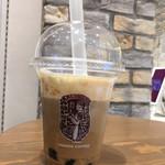 やなか珈琲店 - タピオカミルクコーヒー(520円)