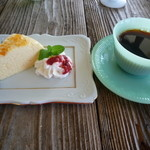 Anne Cafe - 料理写真:チーズケーキセット