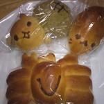 11203829 - シマパンのキャラクターパン達