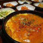 チャムナム家 - 純豆腐チゲ
