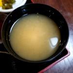 すみれ - 味噌汁