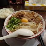 肉ばかラーメン なおじ - 肉バカラーメン 醤油