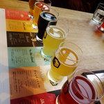 112040581 - クラフトビール飲み比べセット(一人分)