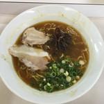 かほラーメン  - 『畑からの醤油ラーメン   530円なり』