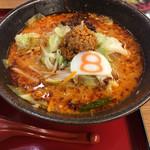8番らーめん - 料理写真:期間限定 野菜 麻辣ラーメン¥790