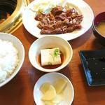 焼肉やまと - 焼肉定食W