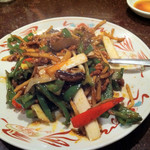 11205310 - 牛肉の中国味噌炒め