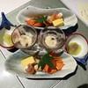 皆美館 - 料理写真:夕飯の先付(鰻水晶巻)