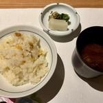 皆美館 - 炊きこみご飯