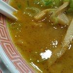 幸楽苑 - スープ