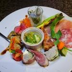 トラットリア ラ・エガオ - 料理写真:前菜盛り合わせ