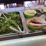 サンロード 吉備路 - 料理写真:サラダコーナー