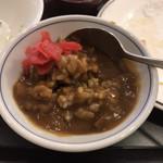 サンロード 吉備路 - 料理写真:どこでも食べてしまうお約束のカレー