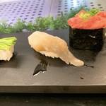すしざんまい - 芽ネギ、トリ貝、ネギトロ