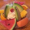 果実香 - 料理写真:ソフトアイス700円です