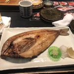 鮨処 魚一心 - 自家干しホッケ 大¥960