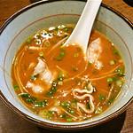 魚らん坂 - 魚醤スープ