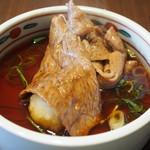 近江牛 毛利志満 - 石焼コース:三上(焼きしゃぶはポン酢で食べる)