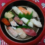 札幌海鮮丸 - 料理写真:1380円プラス配達料100円