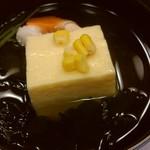 彩かさね - もろこし胡麻豆腐