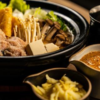 「自然薯とろろ鍋」など7品+飲み放題付コース5,000円!