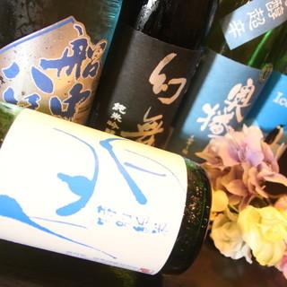 豊富な日本酒を取り揃えております!!