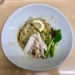 ラーメン たぬき屋 - 料理写真:[季節限定メニュー]冷やし油そば(並) 770円
