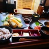 うまいもん屋 櫻 - 料理写真:月曜日替わり「天ぷら」A定食 860円(税込)。