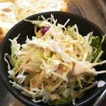 サンライズ - 付け合わせのサラダ