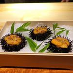 東山 吉寿 - 料理写真:北紫雲丹 卵豆腐