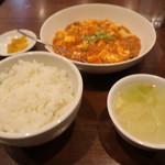 中華料理 上海亭 - 麻婆豆腐定食