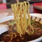 老北京 羊蝎子 - 羊汤面の麺
