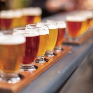 それぞれの餃子に合う、樽生クラフトビール4種(7/24発売)