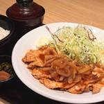 ここの - 【ランチ】生姜焼き定食
