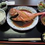11209050 - キンメ丸ごと定食 \1480