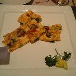 11209387 - 牡蠣と小松菜の卵焼き