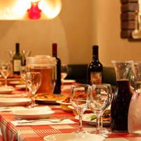 一汁三菜イタリア~の shark - とある日のパーティー・・・フリードリンク付きのプランもご用意!