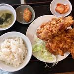 雲隆 - 若鶏の唐揚げ定食