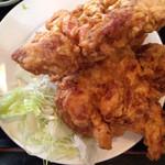 雲隆 - 若鶏の唐揚げ定食の若鶏の唐揚げ
