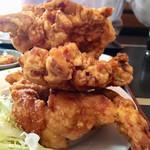 雲隆 - 若鶏の唐揚げ定食の若鶏唐揚げ